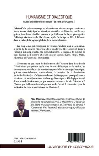 4eme Humanisme et dialectique