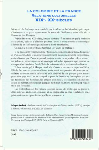 4eme La Colombie et la France