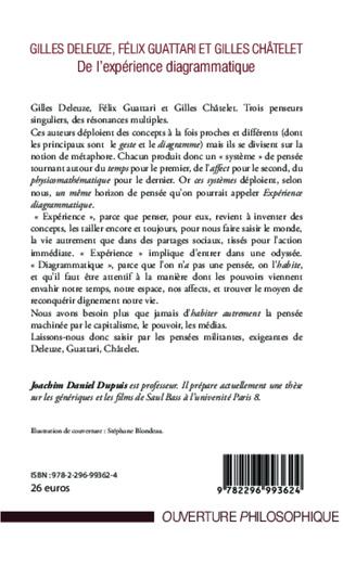 4eme Gilles Deleuze, Félix Guattari et Gilles Châtelet