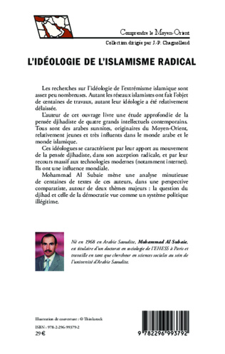 4eme L'idéologie de l'islamisme radical