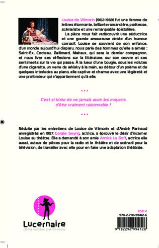 4eme Madame de Vilmorin