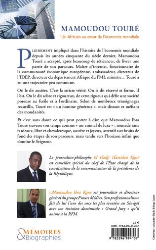 4eme Mamoudou Touré. Un africain au coeur de l'économie mondiale