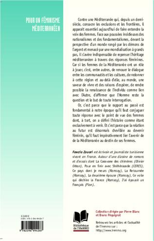 4eme Pour un féminisme méditerranéen