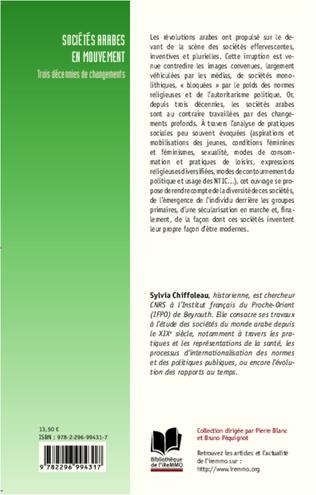 4eme Sociétés arabes en mouvement