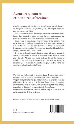 4eme Aventures, contes et histoires africaines