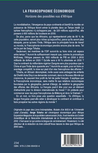 4eme La francophonie économique
