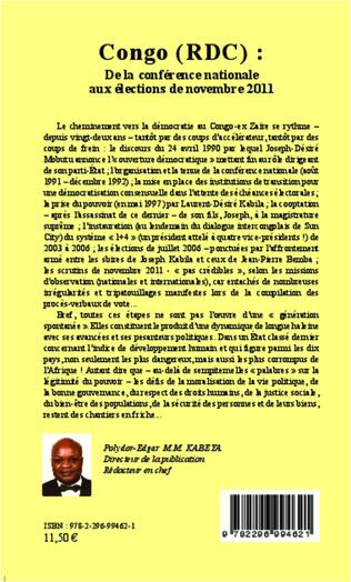 4eme Congo (RDC) :