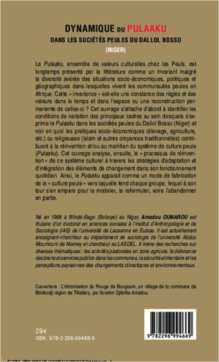 4eme Dynamique du <em>Pulaaku</em> dans les sociétés peules du Dallol Bosso (Niger)