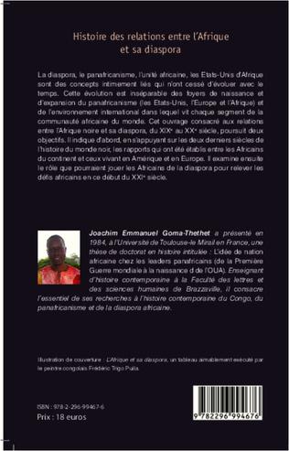 4eme Histoire des relations entre l'Afrique et sa diaspora