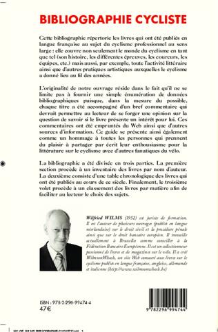 4eme Bibliographie cycliste