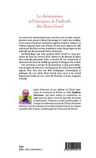 4eme Christianisme et l'émergence de l'individu chez René Girard