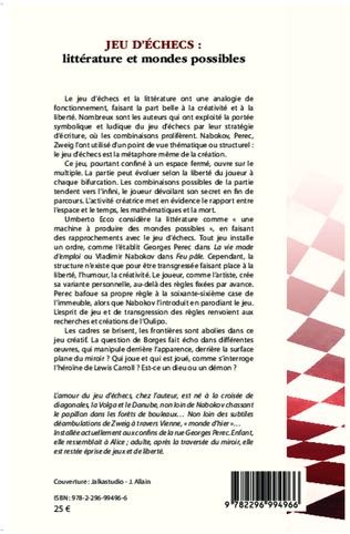 4eme Jeu d'échecs : littérature et mondes possibles