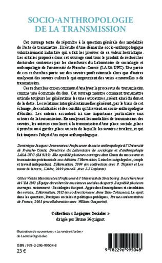 4eme Socio-anthropologie de la transmission