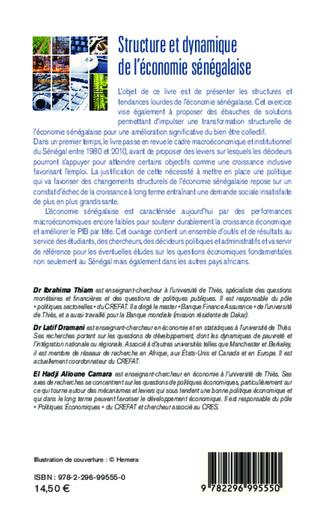 4eme Structure et dynamique de l'économie sénégalaise