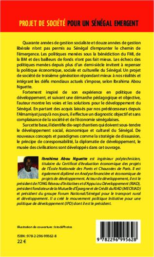 4eme Projet de Société pour un Sénégal Emergent