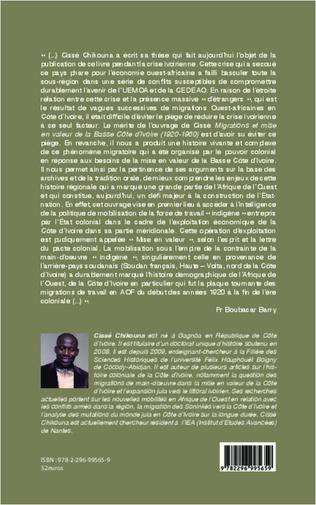 4eme Migrations et mise en valeur de la Basse Côte d'Ivoire (1920-1960)