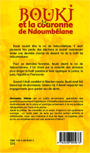 4eme Bouki et la couronne de Ndoumbélane