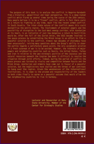 4eme The Nagorno-Karabakh conflict : towards a just peace or inevitable war