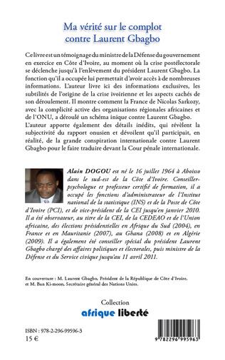 4eme Ma vérité sur le complot contre Laurent Gbagbo