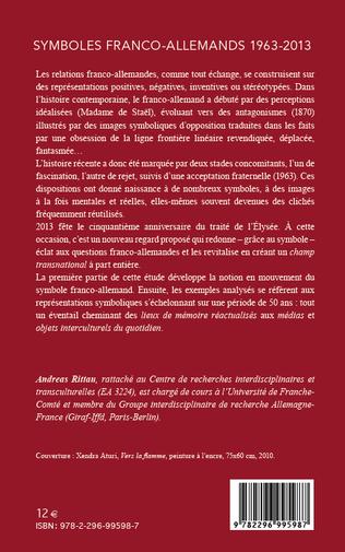 4eme Symboles franco-allemands (1963-2013)
