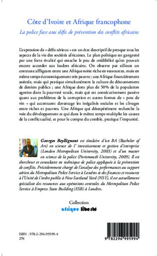 4eme Côte d'Ivoire et Afrique francophone
