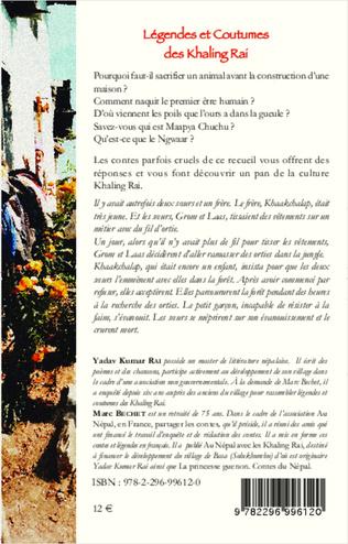 4eme Légendes et Coutumes des Khaling Rai