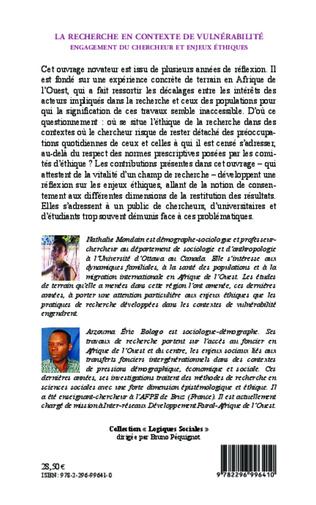 4eme La recherche en contexte de vulnérabilité