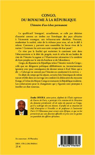 4eme Congo, du royaume à la république