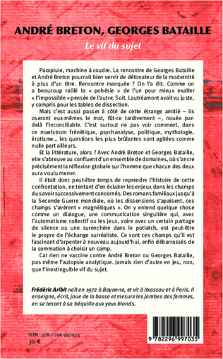 4eme André Breton, Georges Bataille