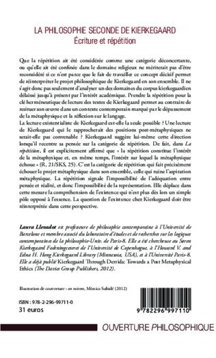 4eme Philosophie seconde de Kierkegaard