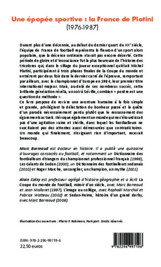 4eme Une épopée sportive: la France de Platini