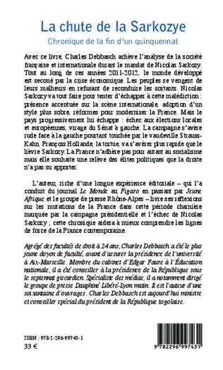 4eme La chute de la Sarkozye