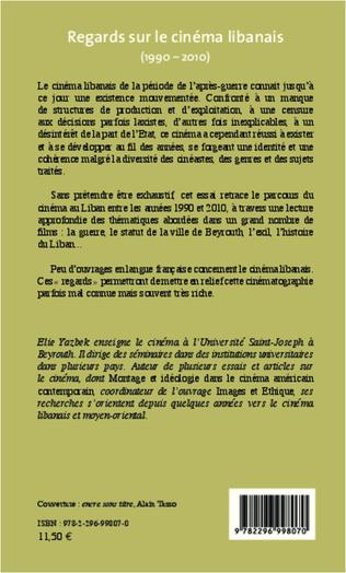 4eme Regards sur le cinéma libanais (1990-2010)