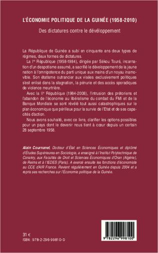 4eme L'économie politique de la Guinée (1958-2010)