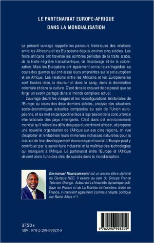 4eme Le partenariat Europe-Afrique dans la mondialisation