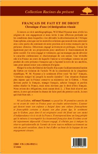 4eme Français de fait et de droit