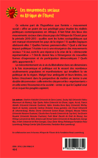 4eme LES MOUVEMENTS SOCIAUX ET LA RECHERCHE D'ALTERNATIVES AU BURKINA FASO