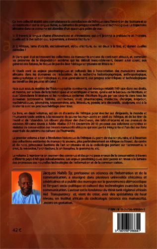 4eme L'Afrique, berceau de l'écriture. Volume 1