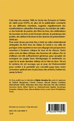 4eme Saint-Louis du Sénégal  Le Livre en Fête