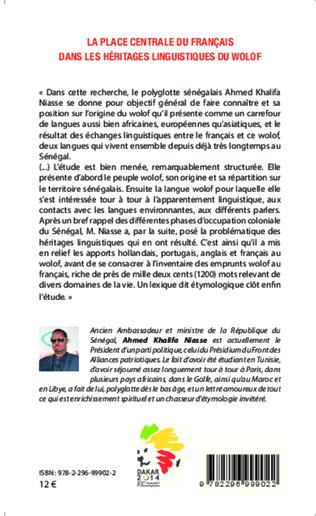 4eme La place centrale du français dans les héritages linguistiques du wolof