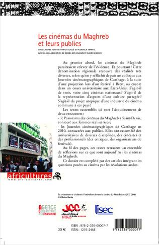 4eme Les cinémas du Maghreb et leurs publics