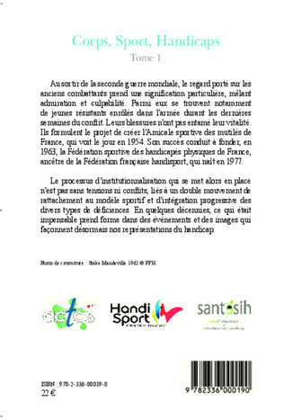 4eme Corps, Sport, Handicaps (Tome 1)