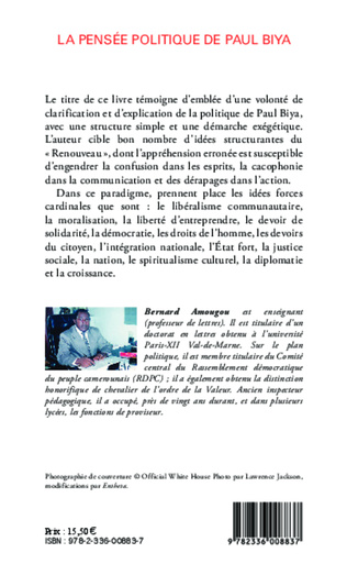 4eme Pensée politique de Paul Biya