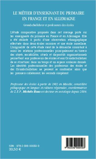 4eme Le métier d'enseignant du primaire en France et en Allemagne