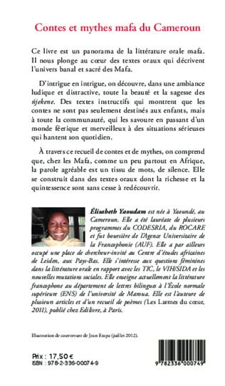 4eme Contes et mythes mafa du Cameroun