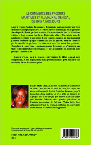 4eme Le commerce des produits maritimes et fluviaux au Sénégal de 1945 à nos jours
