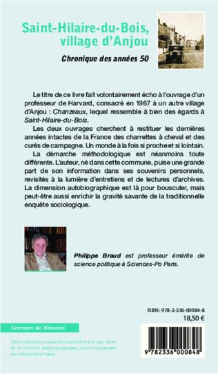 4eme Saint-Hilaire-du-Bois, village d'Anjou