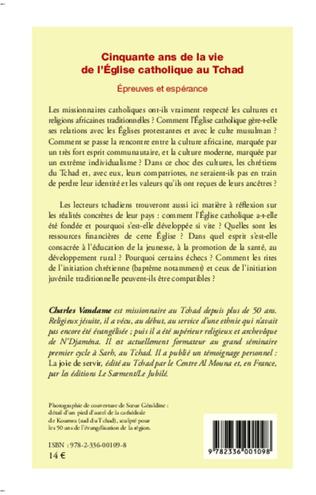 4eme Cinquante ans de la vie de l'Eglise catholique au Tchad