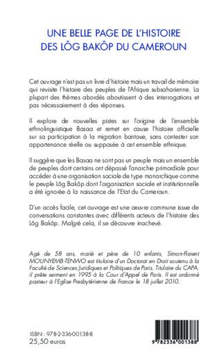 4eme Une belle page de l'histoire des Lôg Baköp du Cameroun