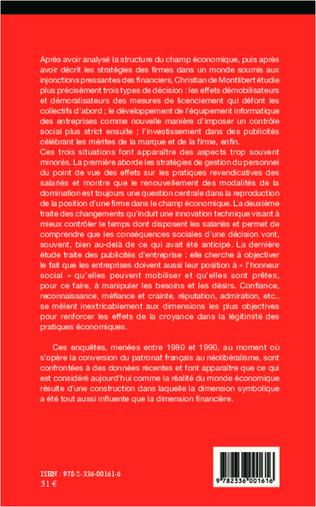 4eme Enjeux et luttes dans le champ économique (1980-2010)